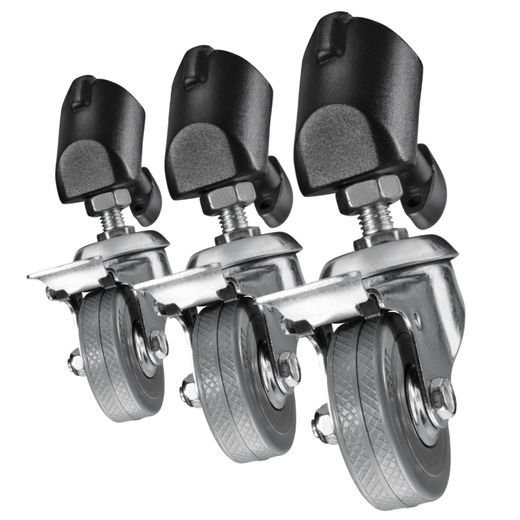 Walimex jalustan pyöräsarja (Tripod Wheels Pro set of 3)