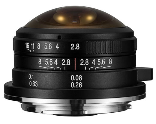 Laowa 4mm f/2.8 Fisheye MFT (VE428MFT)