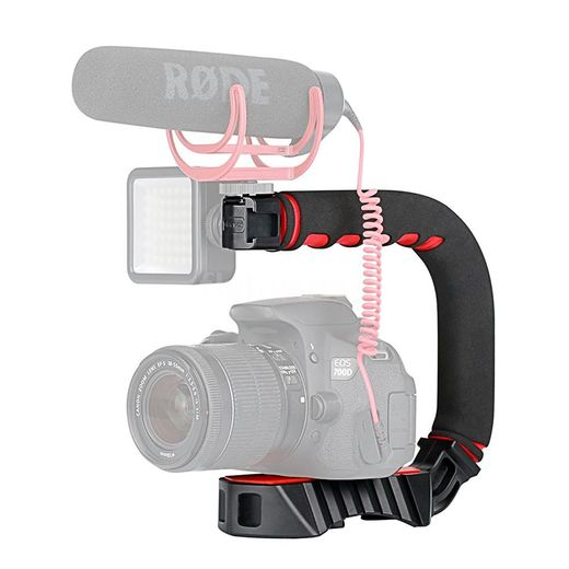 Ulanzi U-Grip Pro Video Stabilizing with triple Hot-shoe