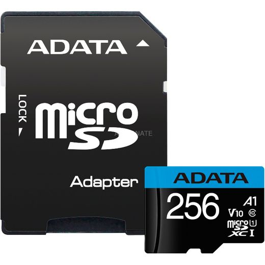 ADATA 256GB Micro SDXC V10 100MB/s + adapter