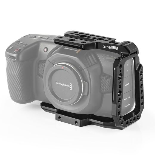 SmallRig Half Cage for Blackmagic Design Pocket Cinema Camera 4K / BMPCC 6K 2254