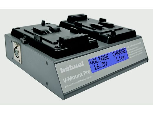Hähnel V-Mount Pro 2-channel V-mount Battery Charger