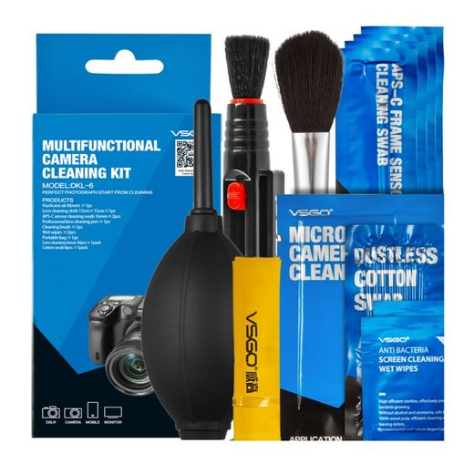 VSGO Multifunctional Camera Cleaning Kit APS-C (DKL-6)