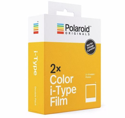 2-Pack Polaroid Color Film for I-TYPE ‐pikafilmi 16 kpl