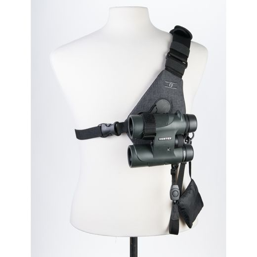 Cotton Carrier Skout Binocular Sling Style Harness (417GREY)
