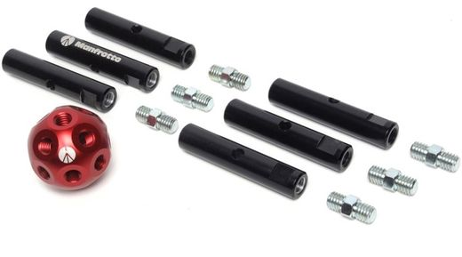 Manfrotto MSY0580A, Dado Kit, 6 Rods