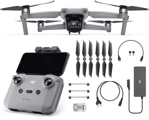 DJI Mavic Air 2 + 64GB 170MB/s SDXC-muisti