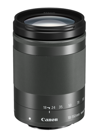 Canon EF-M 18-150mm f/3.5-6.3 IS STM Musta