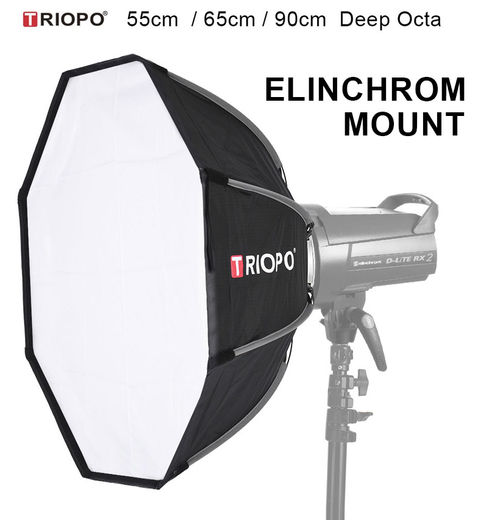 Triopo Speedbox Deep Octa for ELINCHROM