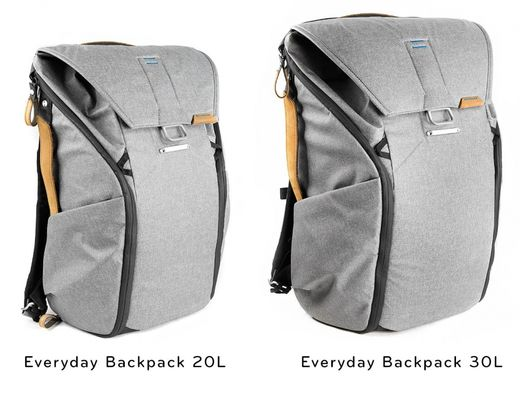 Peak Design Everyday BackPack Ash (vaalea harmaa)