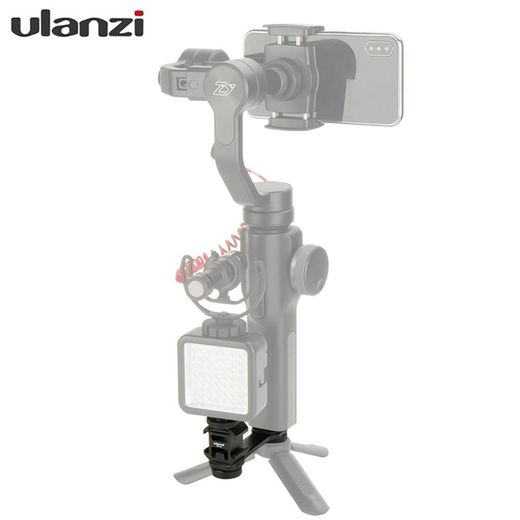 Ulanzi PT-3 Triple Cold Shoe Mount Adapter