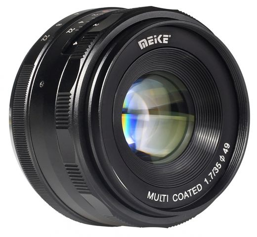 Meike 35mm F/1.7 APS-C, Sony E-mount