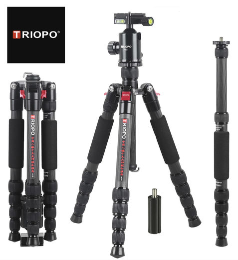 Triopo G2808 Carbon with Triopo Q2 Ball Head