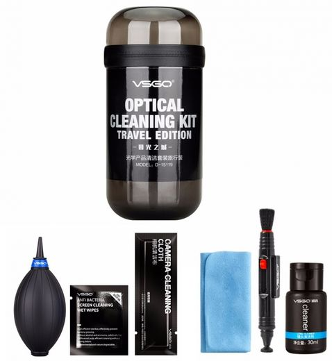 VSGO Optical Cleaning Kit DKL-15G (Travel edition)