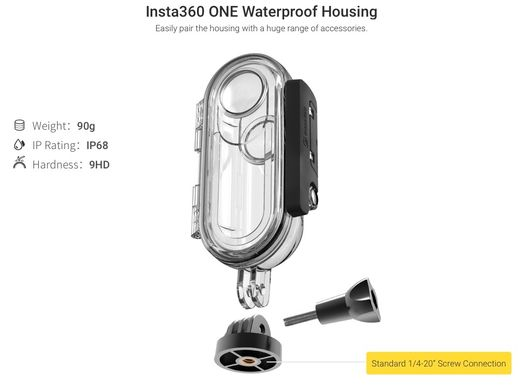 Insta360 Waterproof housing for ONE
