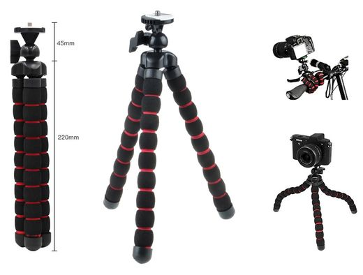 AccPro MEDIUM SQ-101 Octopus / Gorillapod -jalusta + pikalevy