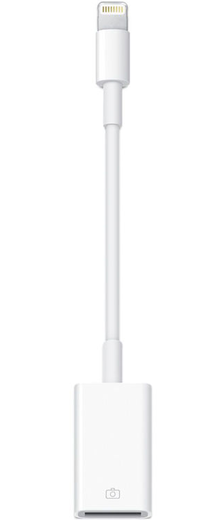 Apple Lightning - USB Kamerasovitin