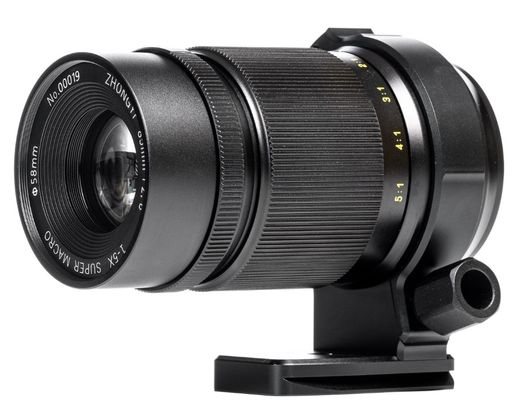 ZY Optics Mitakon Creator 85mm f/2.8 1-5X Super Macro, MFT