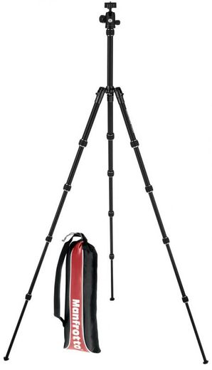 Manfrotto Element Traveler Kit, Compact Aluminium MUSTA