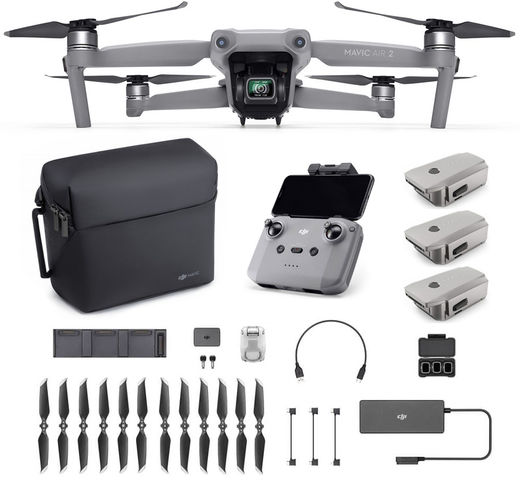 DJI Mavic Air 2 Fly More Combo + 64GB -muisti