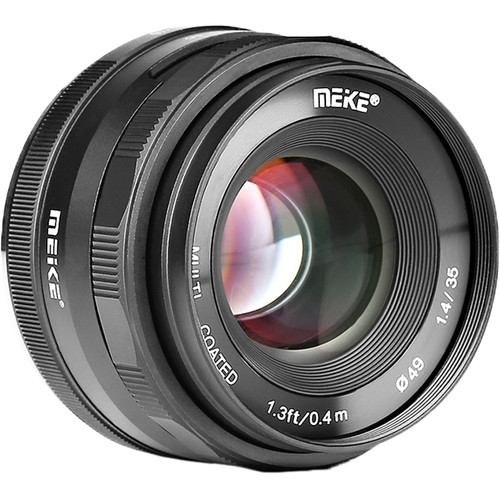 Meike 35mm F/1.4 APS-C, Sony E-mount