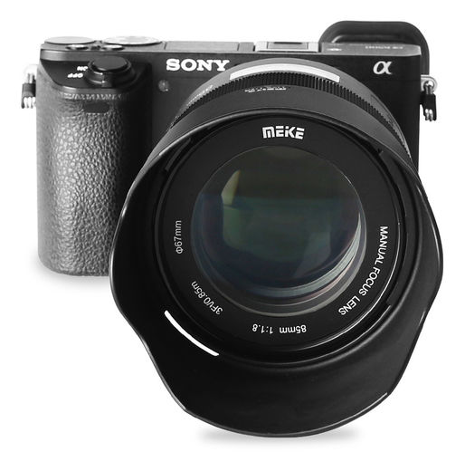 Meike 85mm f/1.8 MF Sony FE
