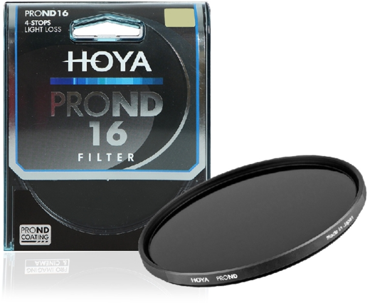 Hoya PROND ND16 harmaasuodin