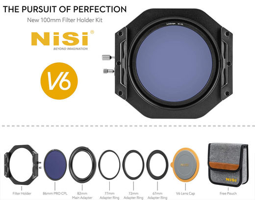 NISI Filter Holder Kit V6 Landscape 100mm