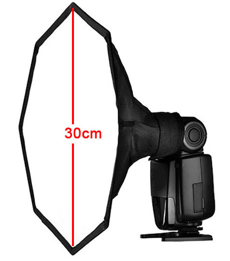 AccPro Octa Softbox for Speedlite 30cm