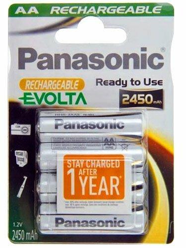 4kpl Panasonic Evolta Aa Akku 2450 Mah Digitarvike Fi