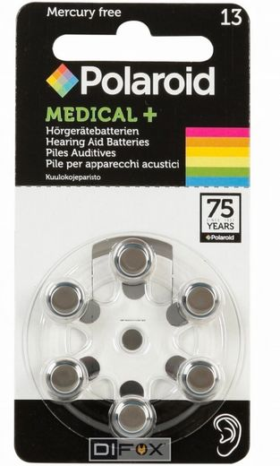 Polaroid Zinc-Air 10 Hearing Aid Batteries, Kuulokojeparisto 6kpl