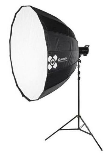 Quadralite Deep Hexadecagon 120cm  Softbox, Bowens