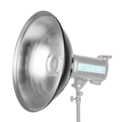 Quadralite Beauty Dish 70cm, hopea (Bowens)