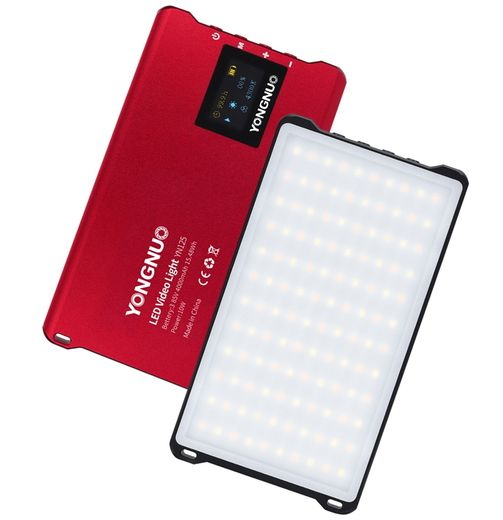 Yongnuo YN125 Pro LED Video light 3200-5600K (RED)
