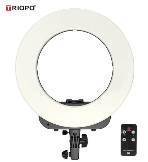 Triopo RL-14 Bi-Color LED Ring Lamp / rengasvalo