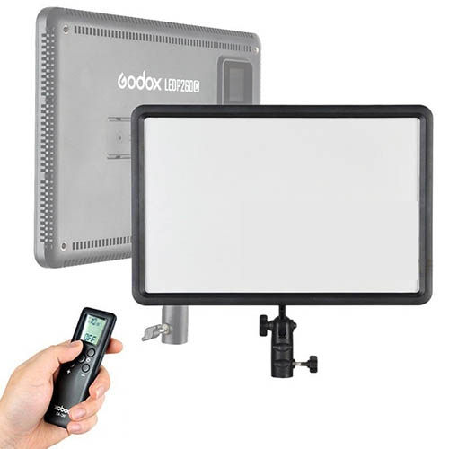 UUSI! Godox / Quadralite LED Video Light LEDP260C + remote