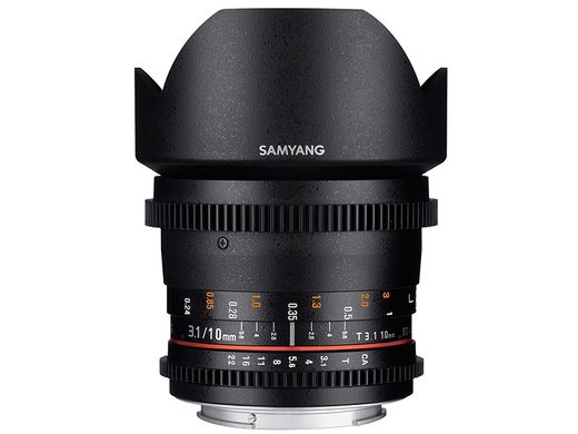 VDSLR I -Versio Samyang 10mm T3.1 ED AS NCS CS CANON