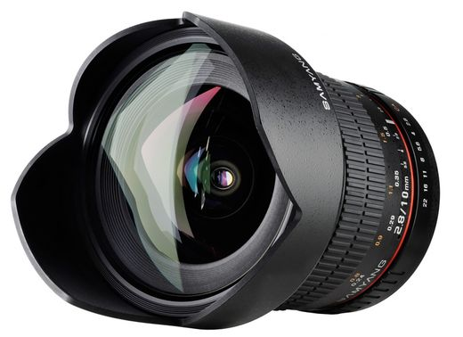 Samyang 10mm f/2.8 ED AS NCS CS, MFT