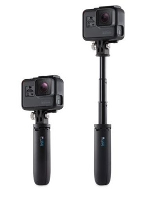 Gopro Shorty, Mini Extension Pole + Tripod