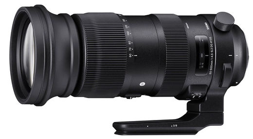 Sigma 60-600mm f/4.5-6.3 DG OS HSM SPORT, Canon