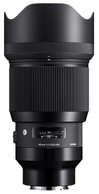 Sigma 85mm F1.4 DG Art Series HSM, Sony E