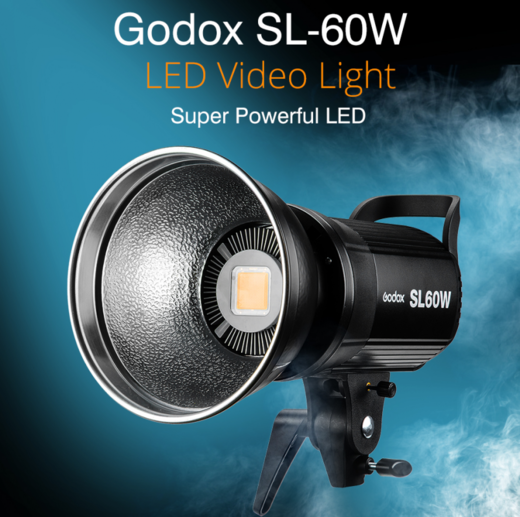 Godox SL-60W Studio Led Video Continuous Light  + Remote