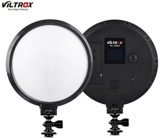 VILTROX VL-300T Round Bi-Color Edge-LED Light