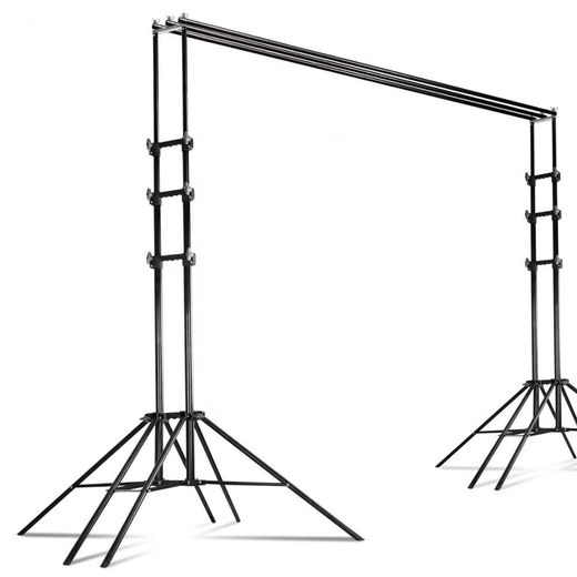 Studioline Triple Crossbar Backdrop Stand TBGS-3*3B