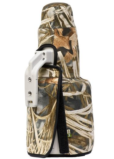 LensCoat TravelCoat Canon 500 f/4 IS II with hood - Realtree Max4 (TC5002ISHM4)