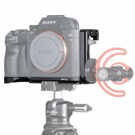 Ulanzi R013 L-bracket with cold shoe for Sony A7 & A9 -series