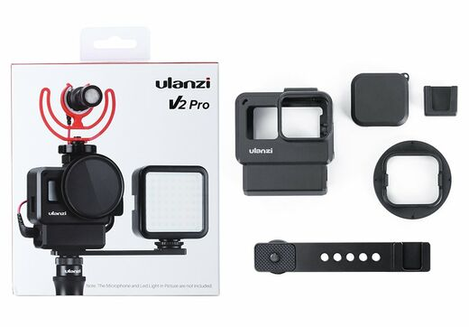 Ulanzi V2 Pro Vlog case for GoPro