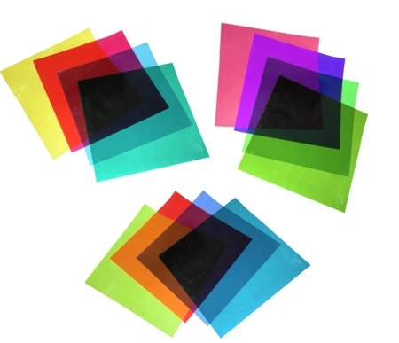 Walimex Studio Color Filter Set, 12kpl 30x30cm