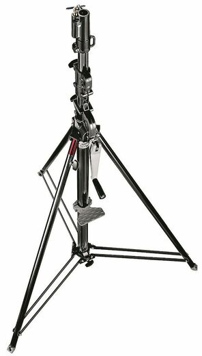 Manfrotto Wind-up Stand Black 087NWB  370cm