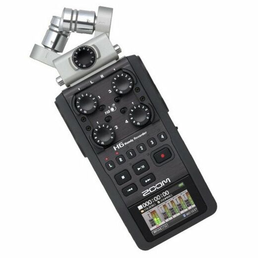 Zoom H6 Black Edition Handy Recorder kannettava tallennin